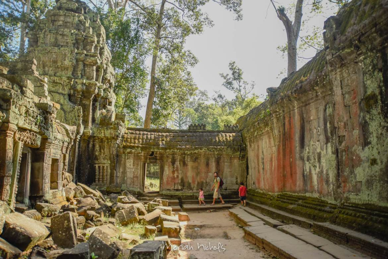 Meriah Nichols Ta Prohm Angkor Wat -12