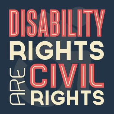 disability rights are civil rights: the disability perspective on the women's march in washtington
