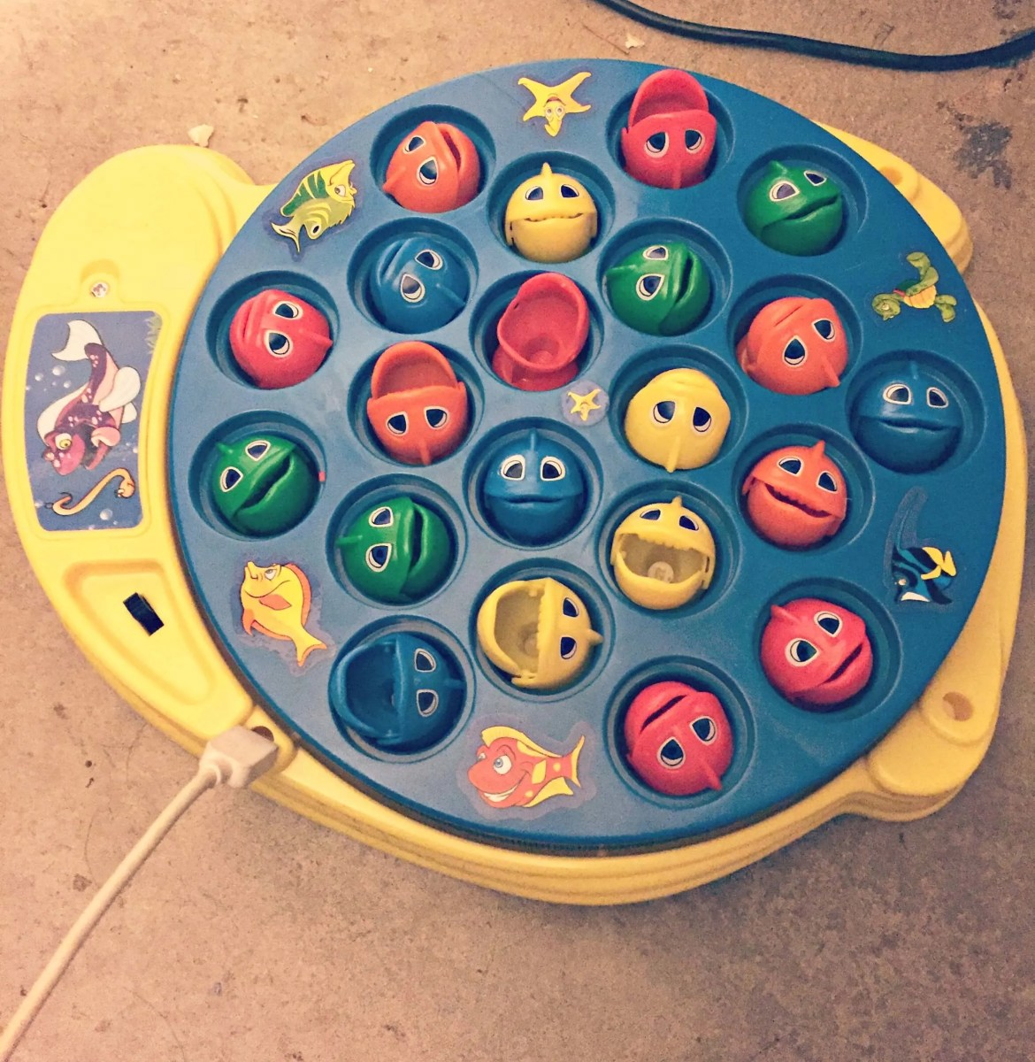 The post about when my daughter with Down syndrome connected this charger to her fishing game