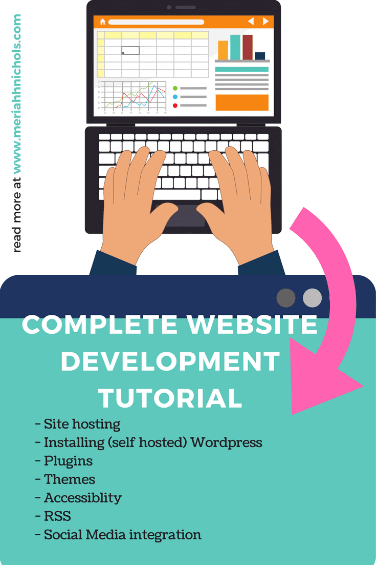 Set up your own site using this tutorial series that will take you from site hosting all the way to social media integration - from A-Z, all for FREE. | blog | website | website development | blogger | how to set up a website | how to buy a domain | how to host a website | wordpress |
