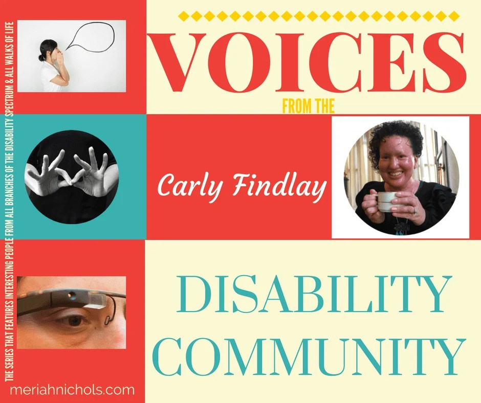 Carly Findlay, featured in Voices from the Disability Community. Writer, blogger, appearance activist. | disability | disability awareness | voices | special needs | special needs awareness | disability studies | education | education profiles