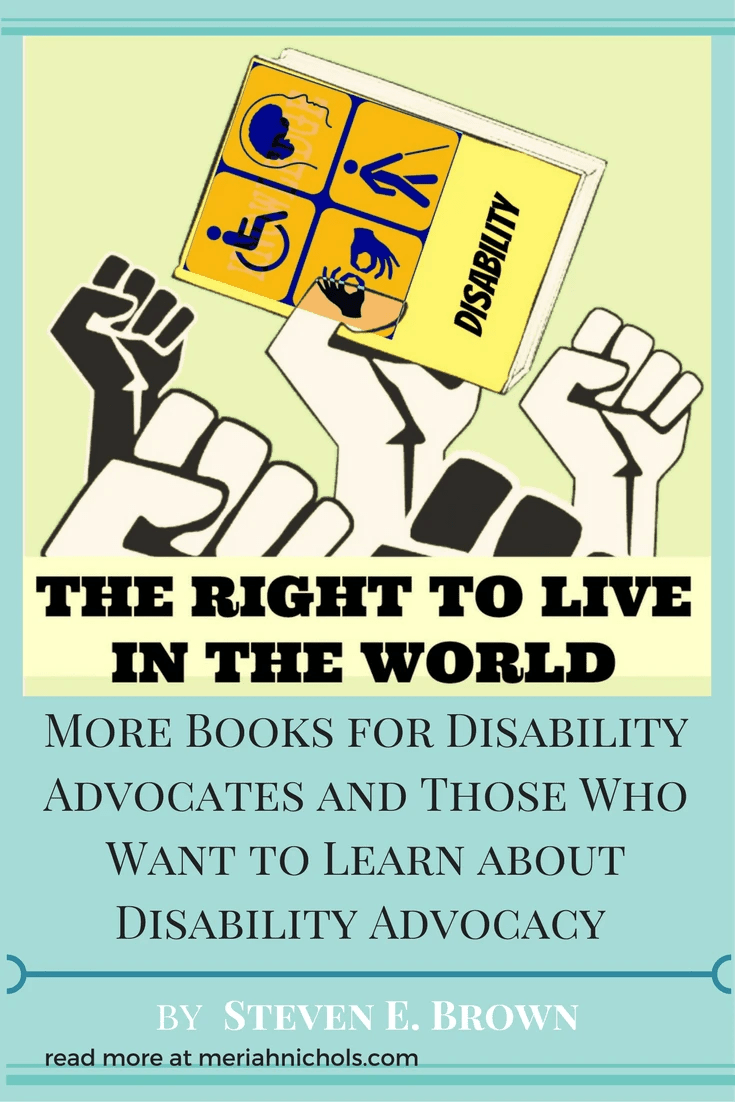 Dr. Brown shares his picks of books right now, including books for young and younger readers! Don't miss this post | disability | social justice | education | books | book recommendation | special needs | disability awareness | disability advocacy