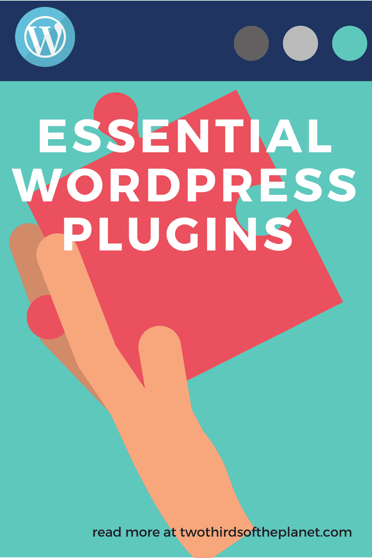 A list of essential wordpress plugins for the beginner/intermediate wordpress designer, including plugins for site security, design, mail chimp and more. | blog | website | wordpress | website design | blogging | blogger | wordpress plugins | professional blogging | plugins