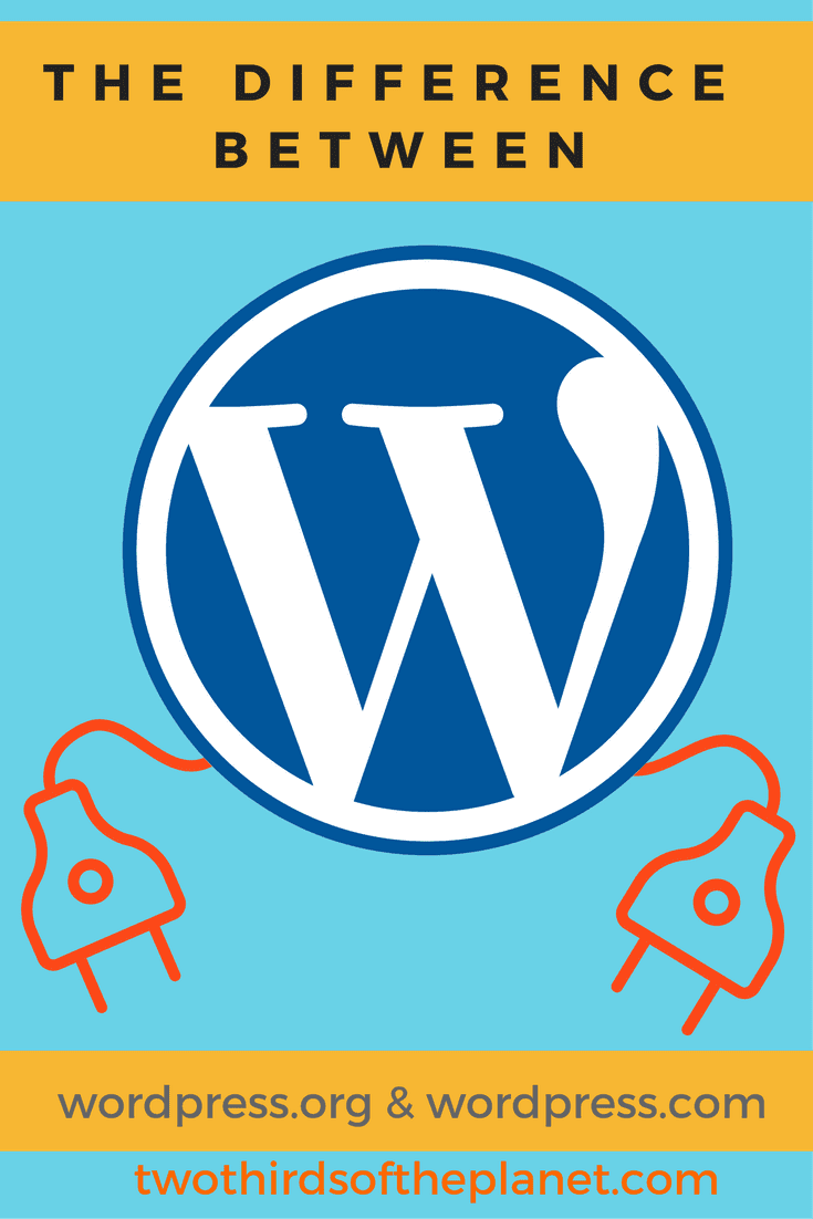 Ever want to know the difference between WordPress.org and WordPress.com? This post will explain the difference between the two clearly, and help you make the determination as to which is the better foundation for you to build your site on | blog | blog post | wordpress | wordpress.com vs wordpress.org | difference between wordpress.com and wordpress.org | blogging basics | blogging essentials | blog post | website development | website