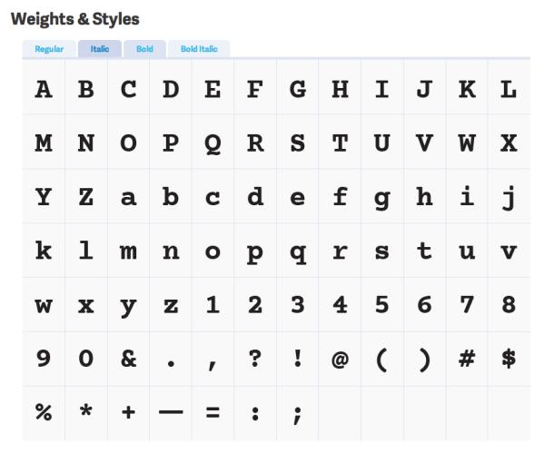 Font-Empfehlungen zum Programmieren