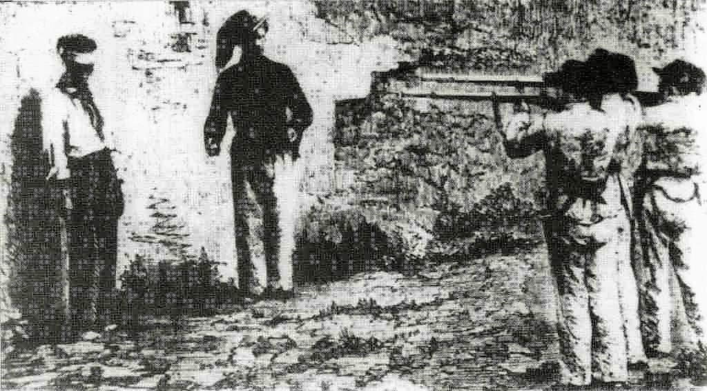 Unità d'Italia: Fucilazione di Vincenzo Petruzziello. Montefalcione, 1861.