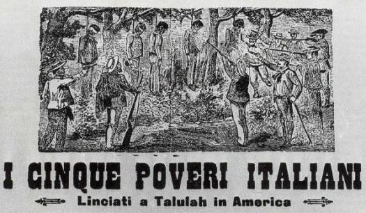 bandiera confederata - linciaggio di tallulah
