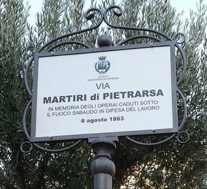 strage di pietrarsa - San Giorgio a Cremano - via martiri pietrarsa