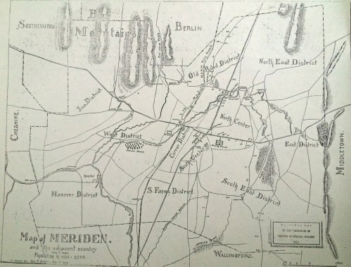 Meriden & Adjacent Country 1850