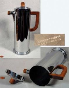 Maning Bowman Cocktail Shaker - J. Ackerman design