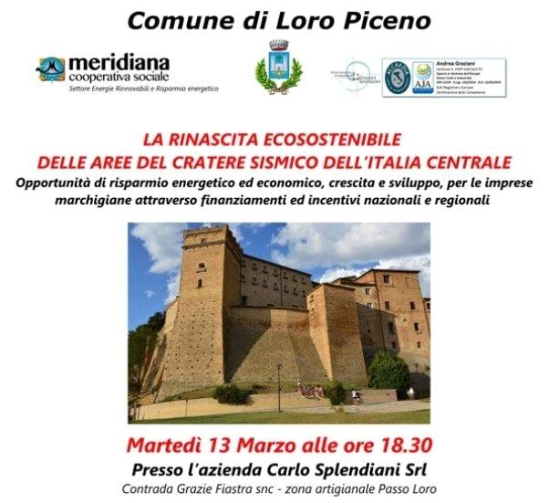 Incontro Informativo Loro Piceno