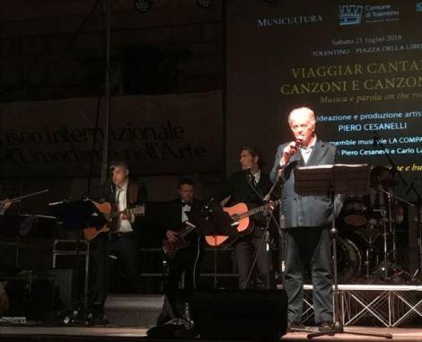 Piero Cesanelli organizzatore evento