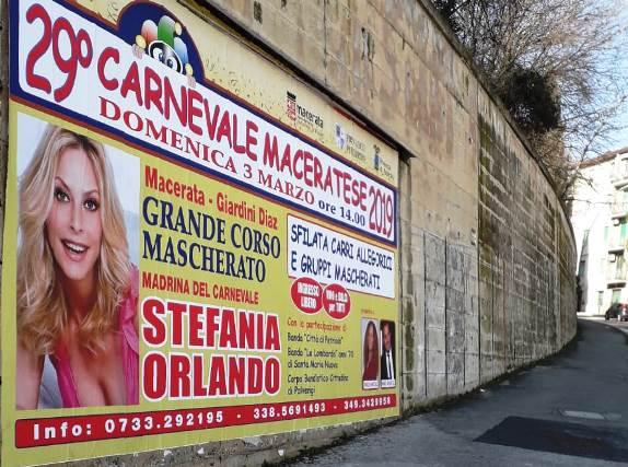 Affissioni Meridiana Cooperativa Carnevale