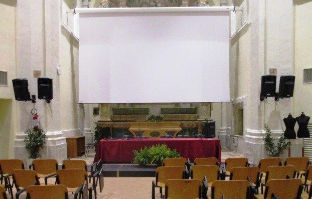 Allestimento Floreale Auditorium J. Svoboda