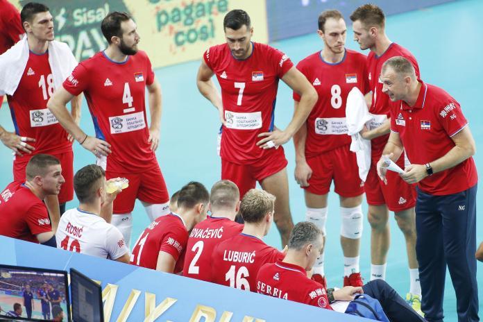 PORAZ ODBOJKAŠA: Kolakovićev Iran prejak za Srbiju!