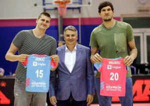 DVA NBA ASA: Bobi i Jokić gledali duel Mege i Zvezde