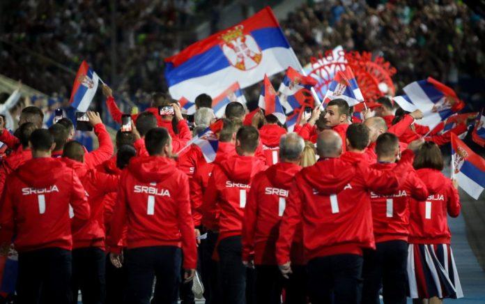 SVEČANO OTVORENE EVROPSKE IGRE: Zastavu Srbije nosio Marko Ždero