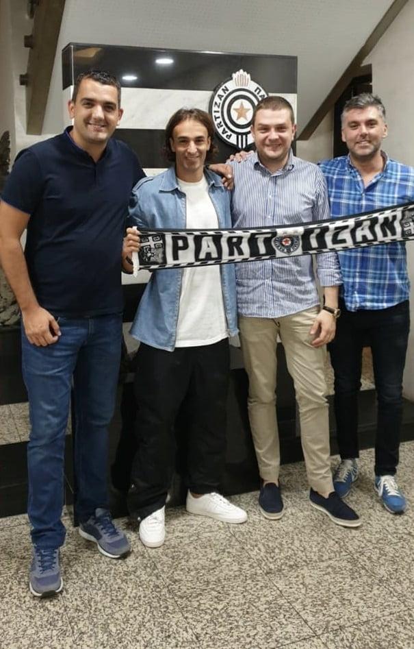 POJAČANJE CRNO-BELIH U MINUT DO 12 Marković se vratio u Partizan!