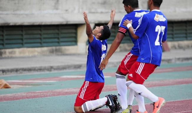 Con garra y buen fútbol el conjunto nacional ganó / Foto Prensa Atlético Venezuela