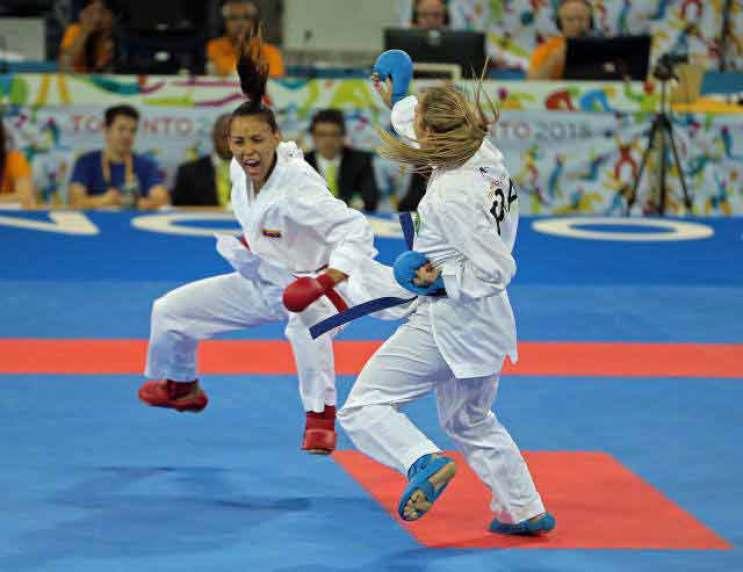 Omaira Molina conquistó plata en karate femenino   Panamericanos 123  Meridiano.net