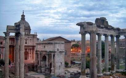 El foro romano, Roma