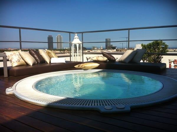 Hoteles con jacuzzi en Barcelona