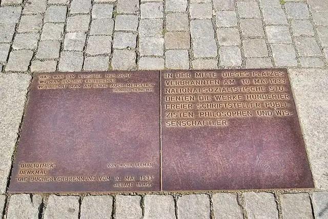 quema de libros de Bebelplatz