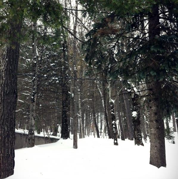 nieve huesca