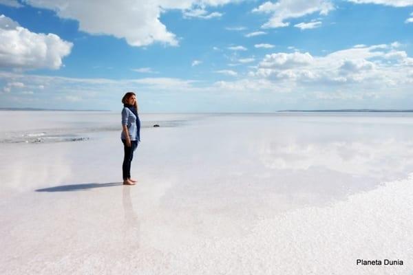 Tuz Gölü, lago de sal de Turquía