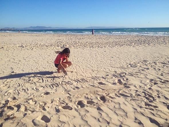 Playa de tarifa, Cádiz