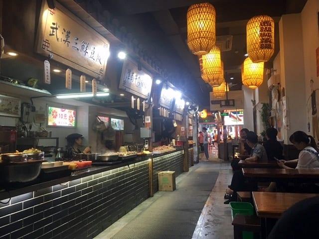 Hangzhou food maret