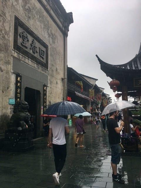 calle Hefang Jie de Hangzhou