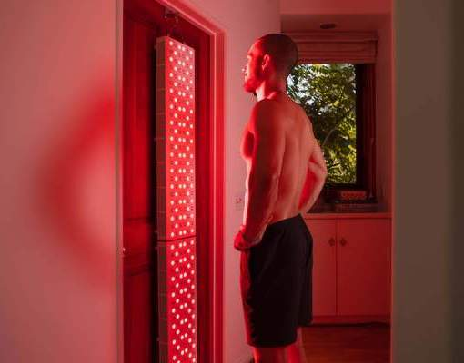 Meridians and Marathons offers infrared light therapy with a Joov