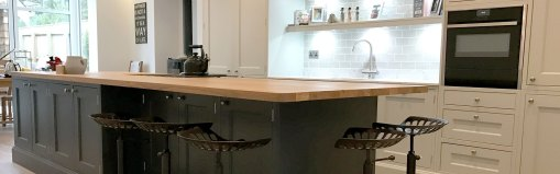 Deseo Inframe Kitchen in Poole