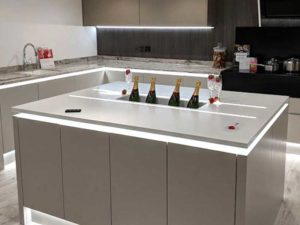 Solid Surface Corian Kitchen Worktop