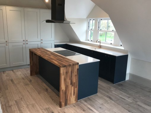 New Fitted Kitchens at Refurbishment in Swanage