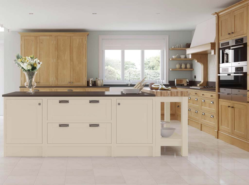 Aisling Kitchen - Edmonton - Fitted Kitchen - Meridien Interiors Dorset