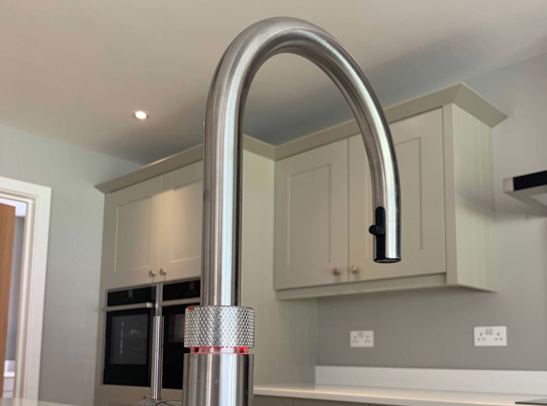 Quooker tap - new build fitted kitchen ringwood
