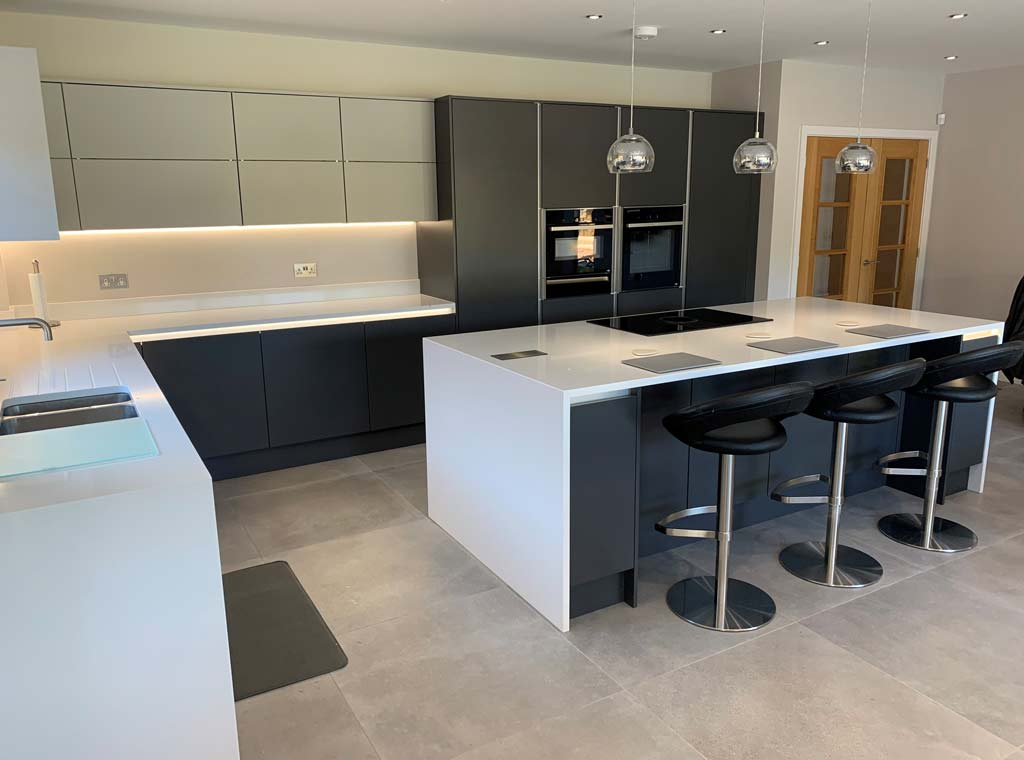 modern fitted kitchen ringwood