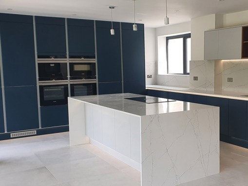 New Build Contemporary Kitchen in Poole