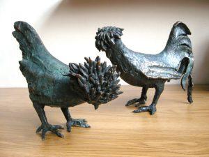 Gallo e gallina padovana - Stefano Baschierato