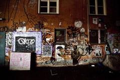 Grafitti under bro