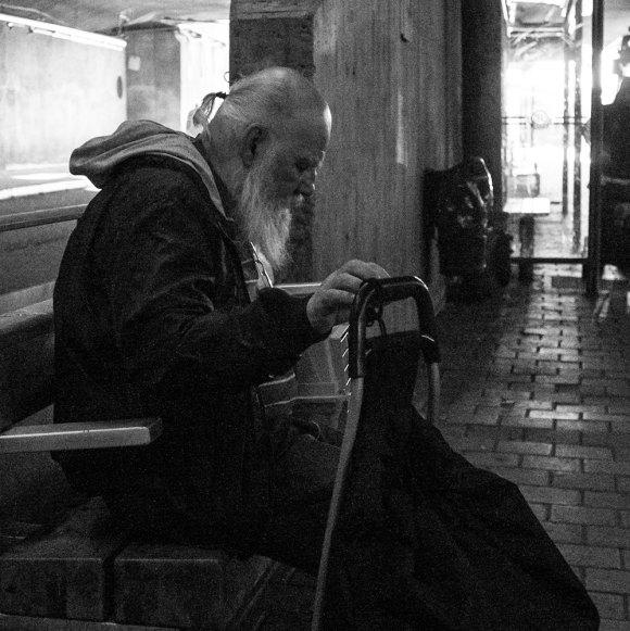 Old-man,-Slussen