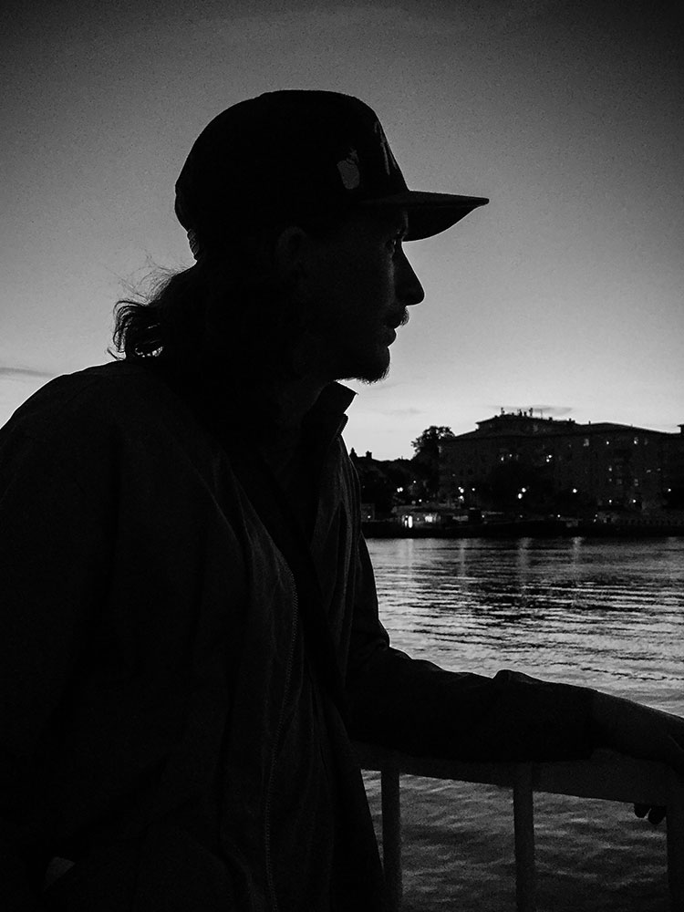silhouette-with-cap