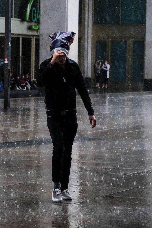 Regnmössa