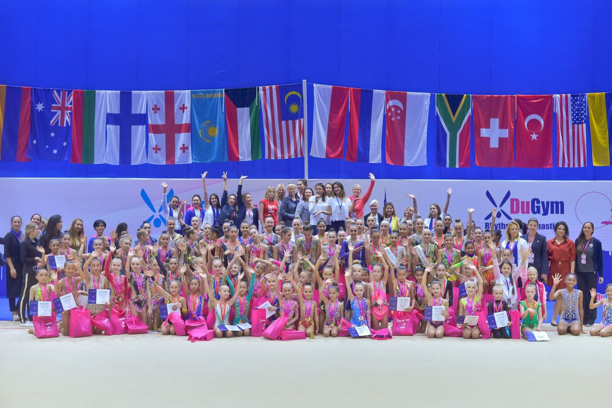 بالتعاون مع مجلس دبي الرياضي  5 بطلات أولمبيات في بطولة دبي الدولية للجمباز الإيقاعي