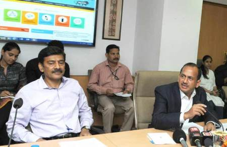 Ramesh Abhishek, Secretary, DIPP launched the Startup India portal and Moible App in New Delhi on March 31, 2016.