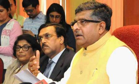 Ravi Shankar Prasad has been elevated to become a part of CCPA.