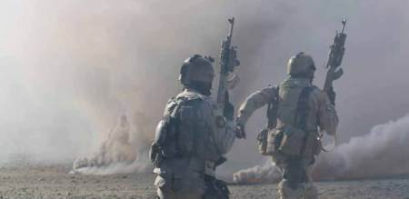 An Afghan official said that country's special forces immediate swung into the action.