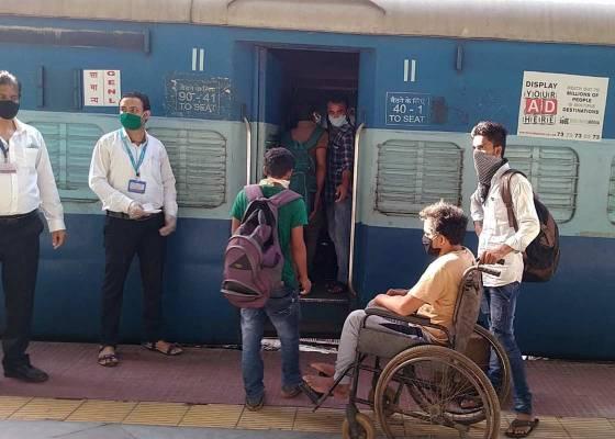 Meri Sarkar Railway Shramik Special Train